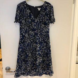 J Crew floral summer dress